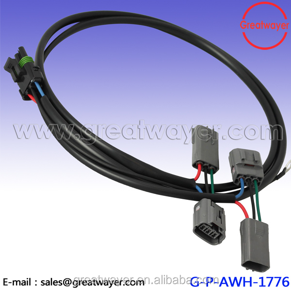 VW 3Pin Electrical Wire Harness Waterproof Connector Pigtail Repair New 1J0973703