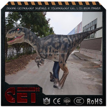 CET-V-2019 NEWEST Customized dinosaur costume realistic dinosaur costume of velociraptor