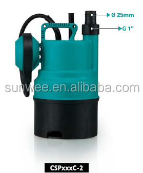low voltage general 1/3hp small electric clean water pump with plastic housing