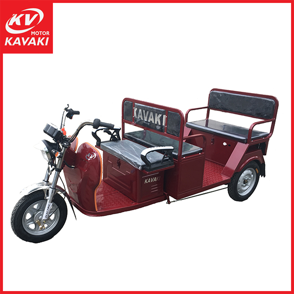 2016 KAVAKI supplier now model electric rickshaws / electric tricycles with three wheel made in China
