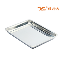 Buy Stainless Steel School Canteen Serving Tray in China on ...