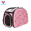 Custom Portable Foldable New Style Luxury Comfortable Carrier Pet Bag