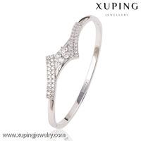 50953 cheap bulk jewelry new style indian diamond bangle