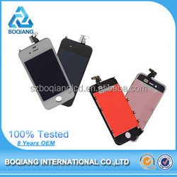 China shenzhen Boqiang manufacturer mobile phone lcd for iphone 4 new wholesale