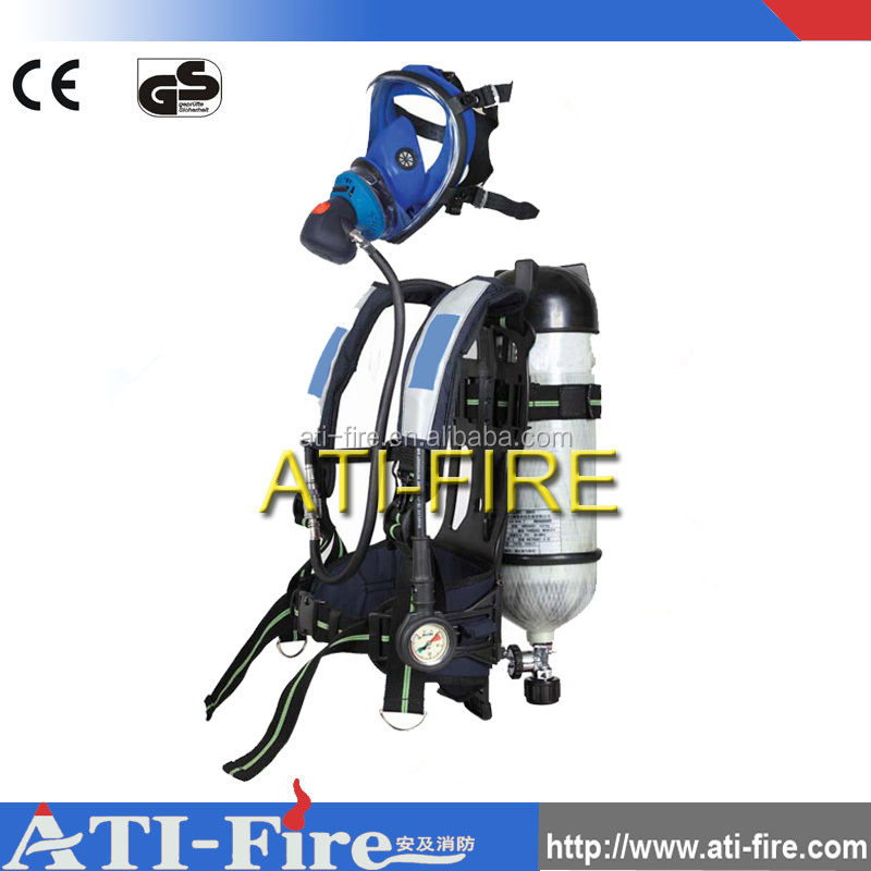 2106 Hot selling air breathing apparatus/ positive pressure air respirator SCBA