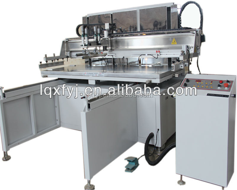 large format screen printing machine for wood printing