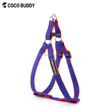 Wholesale Top Sale Step-in Easy Walk Dog Harness Mixed Colours Bamboo Fiber Dog Vest with Name