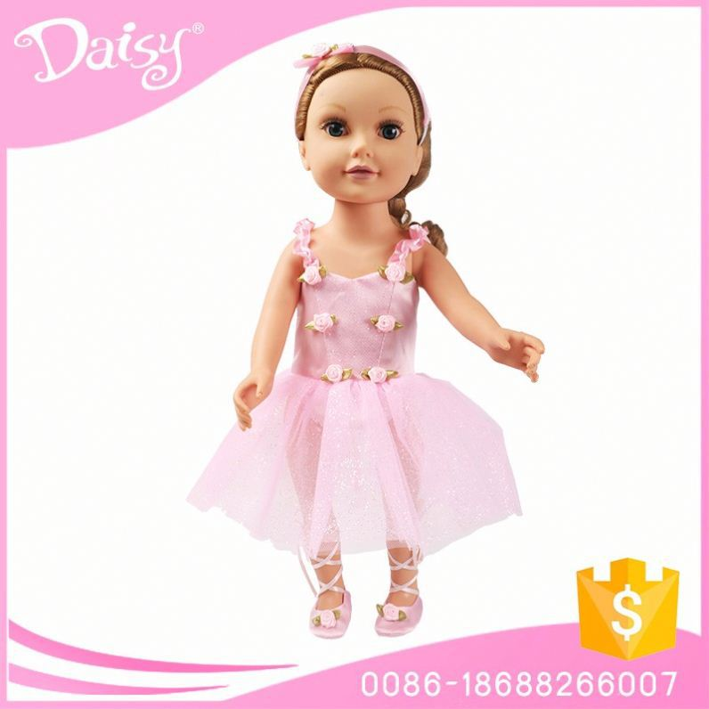 Brand new with CE certificate western party wear girl doll dresses