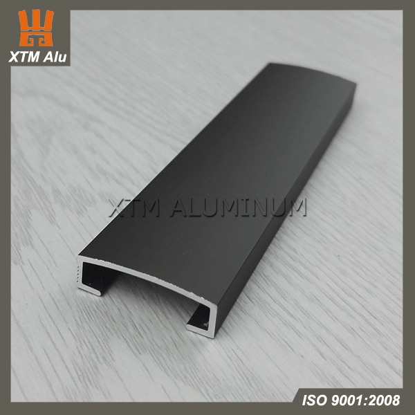 Aluminum Decorative Ceramic U Shape Listello Tile Trim