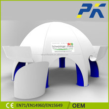 Best-selling new design PVC inflatable balloon air dome tent for outdoors promotion
