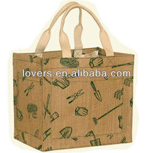 100% natural biodegradable jute wine bags made in Vietnam