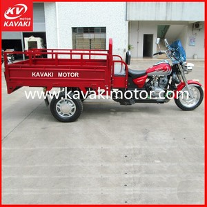 Classic MTR Motorcycle 3 Wheels Cargo Trailers Disk Brake System Three Wheelers