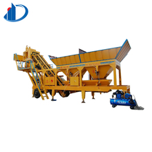 China small used YHZS35 mobile concrete batching plant price for sale