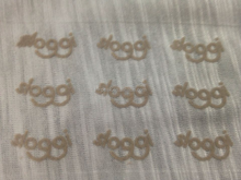 0.6mm & 0.8mm Nylon PET FLOCK Velvet heat transfer for clothing