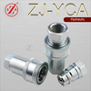 ZJ-YCA agriculture machinery hydraulic fluid power quick connect pipe fittings
