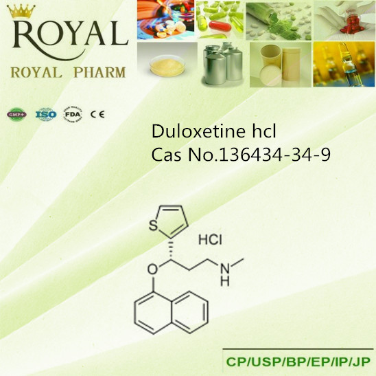 Duloxetine hcl Cas No 136434-34-9 manufacturer/supplier