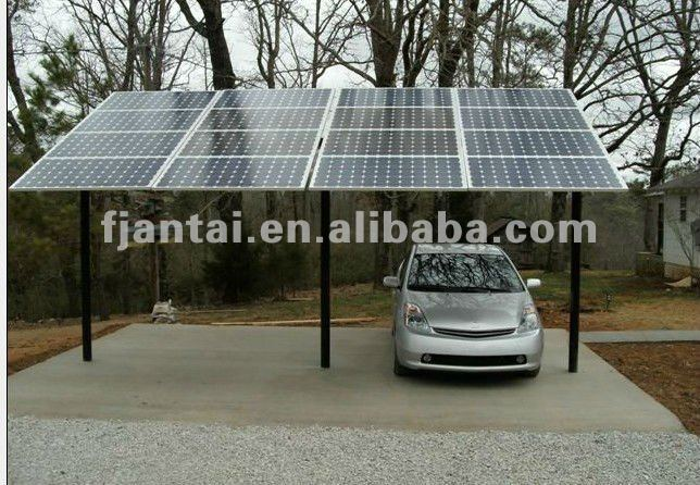 16 panels solar mounting system for car parking,pole mounting system,pv mounts