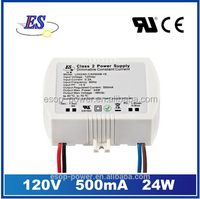 24W 500mA 48V ac to dc constant current traic dimmable led driver