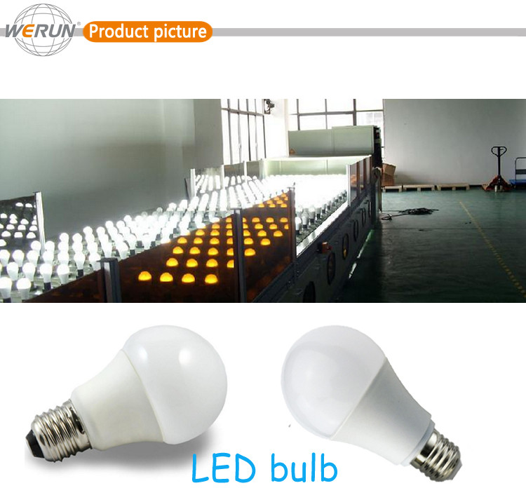 Excelllent high lumen dimmable E27 led light bulb speaker