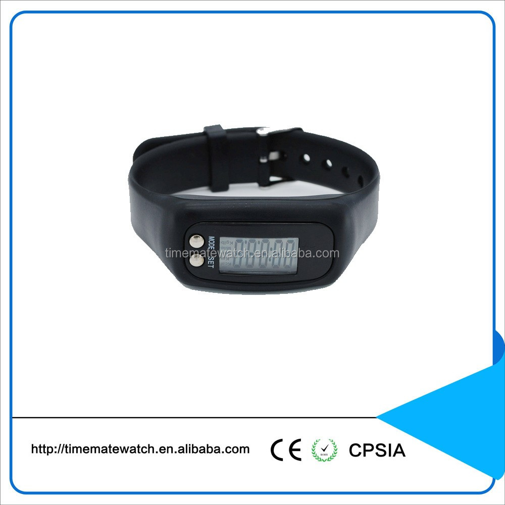 China brand latest design waterproof pedometer sports watch for men