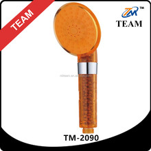 TM-2090 bathroom shower fittings mineral shower head plastic orange shower filter