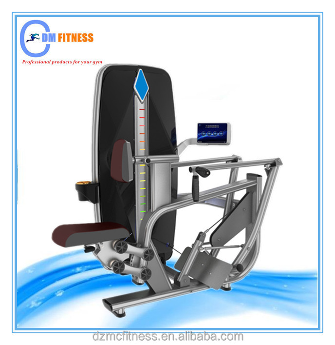 The gym favorite machine strength machine seated row/Body sculpture device