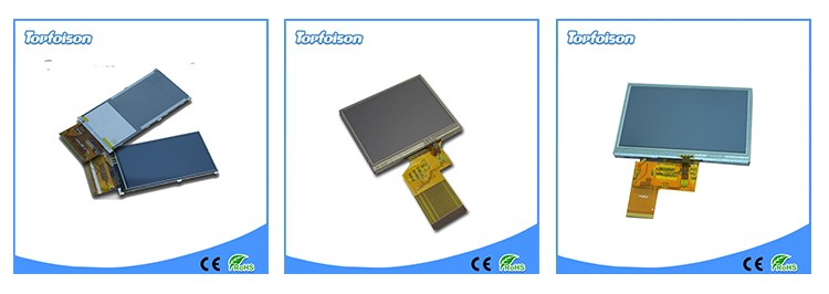 [In Stock]Topfoison OEM 4.3inch touch screen lcd display 480*272 tft lcd for smart home