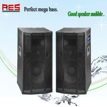 "180W 12"" active portable pa mackie speakers with function USB/SD/FM"