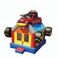 cheap high quality car bounce house for party rental