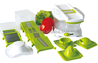 Multifunctional Vegetable Slicer Grater With Container and Base