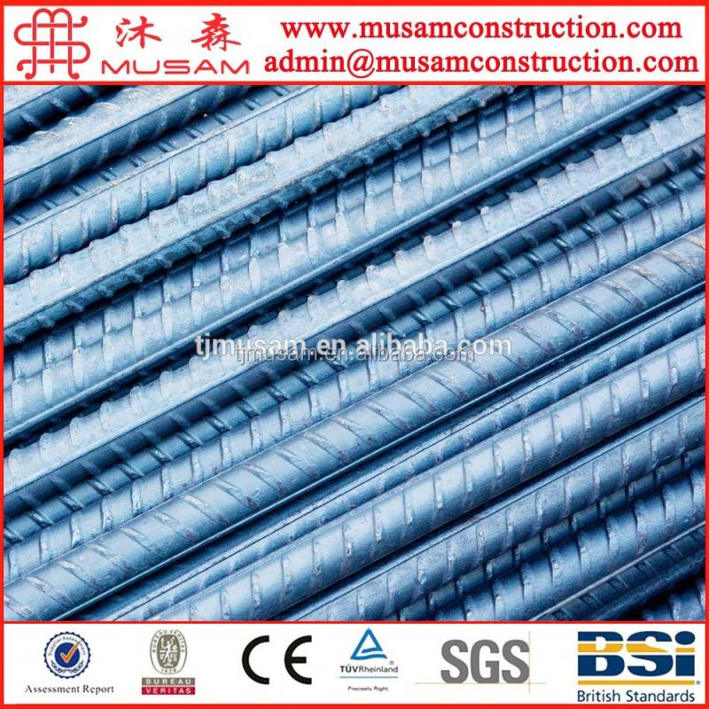 Low price BS4449 B500B steel rebar price per ton HRB500 32mm steel rebar, deformed steel bar, iron rods for construction/concret