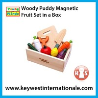 Woody Puddy Magnetic Fruit Set in a Box