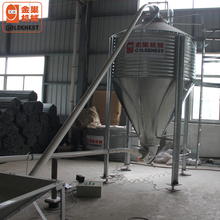 Best Design and Nice Quality Hot Galvanized Feed Silo for Poultry Farming House