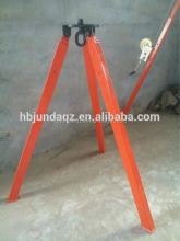 1t 2t 3t 3M Hand Operated Safety Fall Protect Rescue Tripod in Workplace