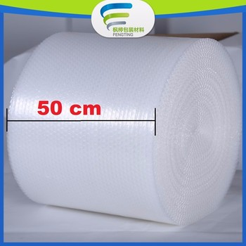 Professional packaging PE Air Bubble Film width 50cm
