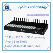 Anti Sim Blocking!! Ejoin GoIP 16-128 16 channel 128 sim Gsm Gateway for acer gateway ne56r main board/laptop motherboard
