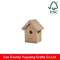 new arrival small cute wooden bird house for sale