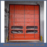 2016 Factory ISO9001 certificate New design industrial rolling gate rapid roller shutter high