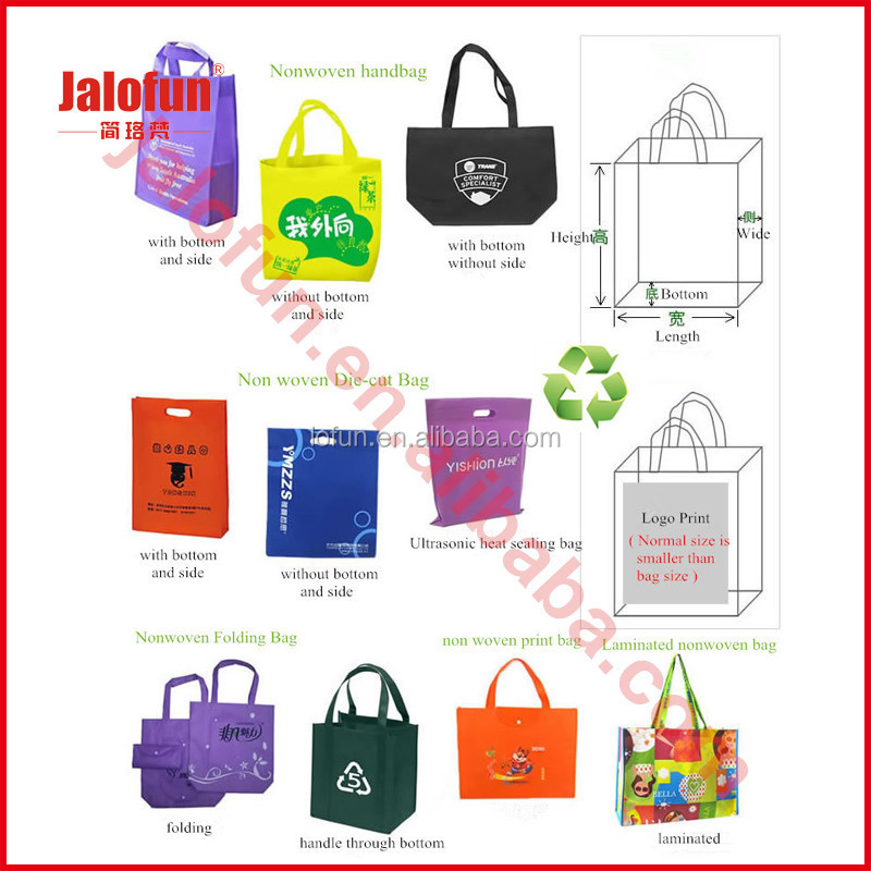 custom design Non Woven Grocery Shopping Tote Bag no minimum