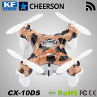 Cheerson CX-10DS mini wifi control 4 sided propeller helicopter quadcopter