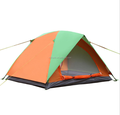 Hot selling waterproof 2 person polyester double layer tent