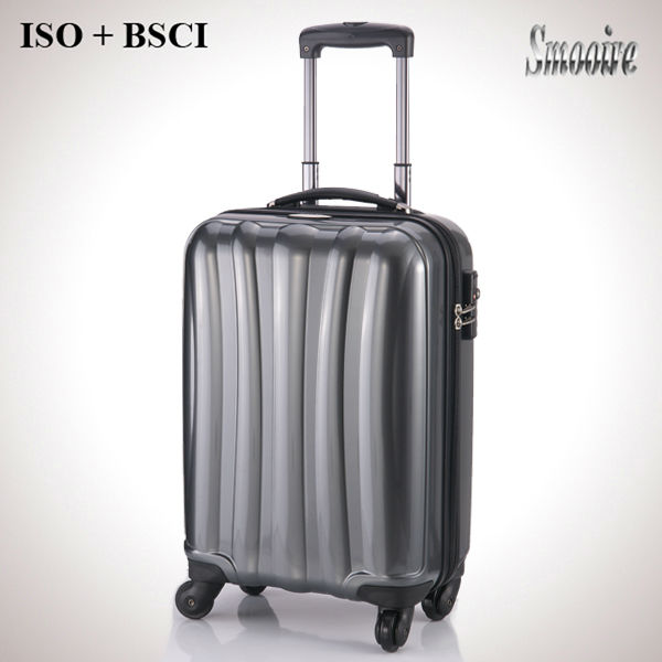 New outstanding 100% PC mini trolley luggage suitcases