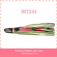 HST243 300mm Resin Head Octopus Skirt Trolling Lure