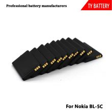 High Quality Cell Phone Battery For Nokia BL-5C 3.7V 1050mah 1200mah battery