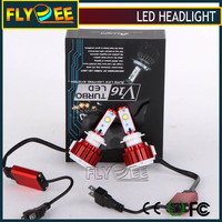 H4 H7 9005 9006 H10 H8 H9 H11 9012 40W 3600LM 4800LM 9600LM Turbo Auto Car V16 LED Headlight CREES Bulbs