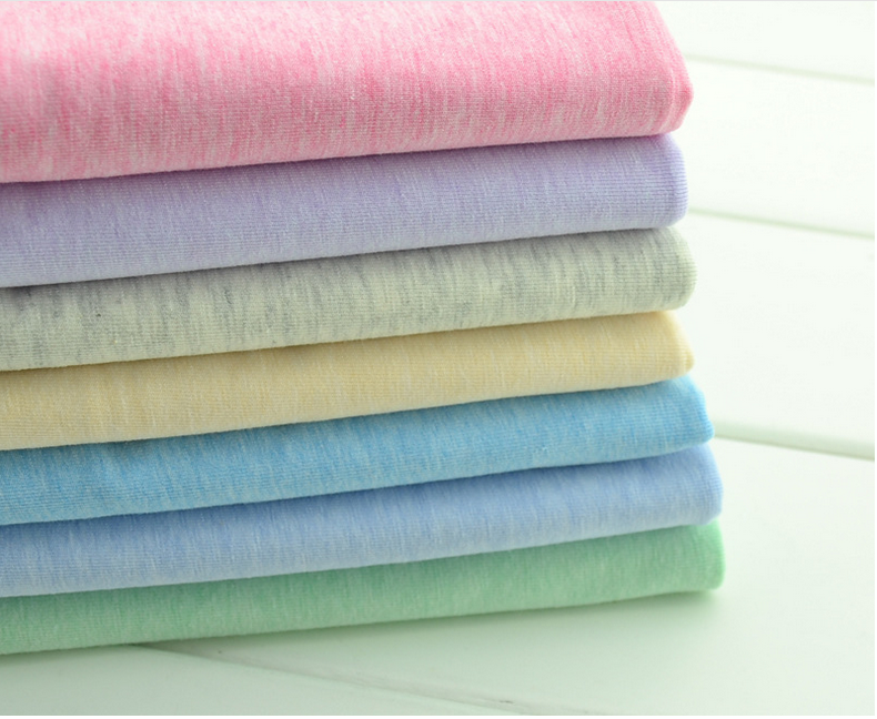cotton lycra odile knitted single jersey fabric