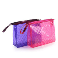 Transparent Clear PVC Mini Zipper Cosmetic Bag