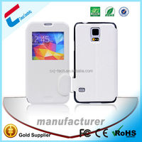 Touch View Window Flip Smart case for samsung galaxy s5 S V