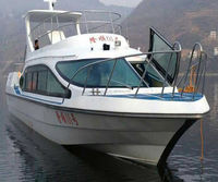 Good Quality 45seats Fiberglass Diesel Inboard Passenger Ferry Crew Boat for sale