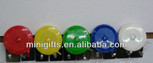 Logo printing plastic round shape roller tape measure